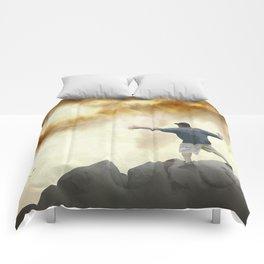 Volcano Disc Golf Comforters