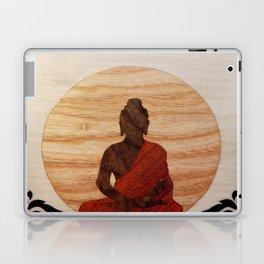 Buddha marquetry Laptop & iPad Skin