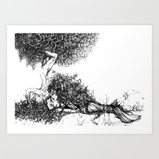 Natural Love Art Print