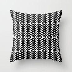 Tribal Pattern Throw Pillow