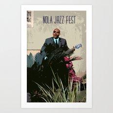 New Orleans Jazz Fest Art Print