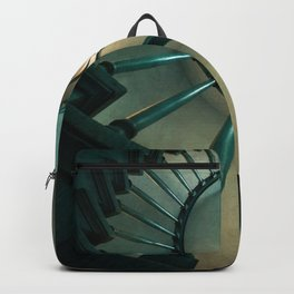 Wooden spiral staircase Backpack