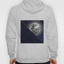 Moonlight on the enchanted forest Hoody