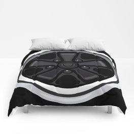 Wheel Design Retro Fuchs Felge Comforters