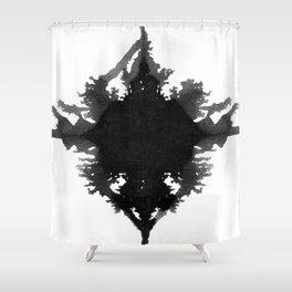 Rorschach    Shower Curtain