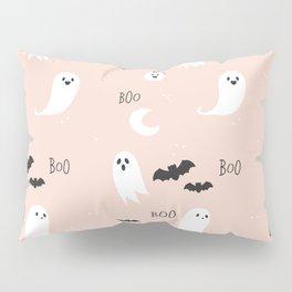 Boo To You - Blush Pillow Sham
