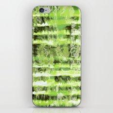 Greenery Tie-Dye Shibori iPhone & iPod Skin
