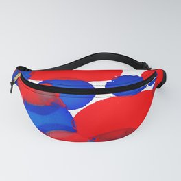 Blue Meets Red Fanny Pack