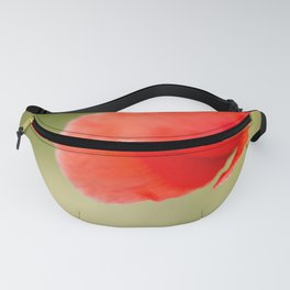 Miss you so much Red Poppy #decor #society6 Fanny Pack