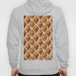 Croissants pattern Hoody