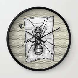 Ant Beach Wall Clock