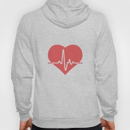 Heart with Cardiogram Hoody
