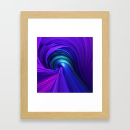 Twisting Forms #6 Framed Art Print