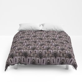 gothic church pattern Comforters