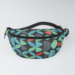 GARDEN SALAD, hand-painted pattern by Frank-Joseph Fanny Pack