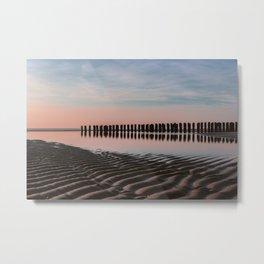 sunset breakers Metal Print