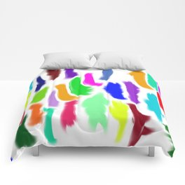 Colors of Humanity Comforters