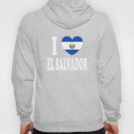 I Love El Salvador Hoody