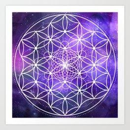 Sacred Geometry: Infinity Art Print