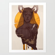 Fallen Prince Art Print