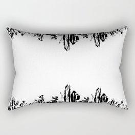 Cactus B&W Rectangular Pillow