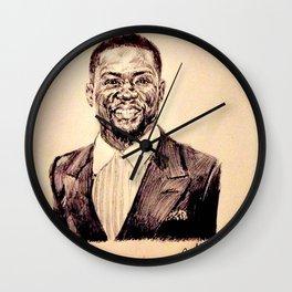 KEVIN HART PORTRAIT Wall Clock