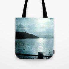 SUNSET RIVER Tote Bag