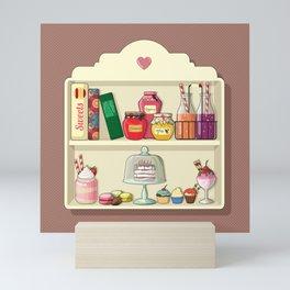 Sweets for My Sweet Mini Art Print