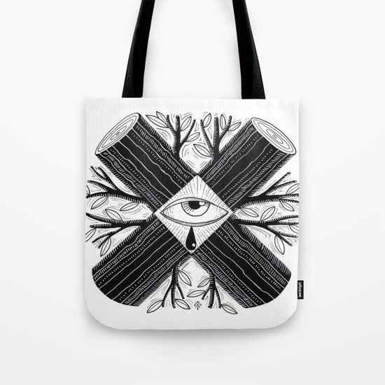 The truth is somewhere in the middle Tote Bag