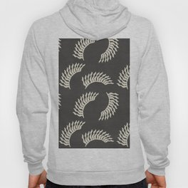 When the leaves become wings - Gray and beige Hoody