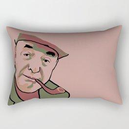 Pablo Neruda Rectangular Pillow
