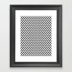 Bazaar 1 Black Framed Art Print