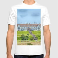 The Turnberry Hotel Mens Fitted Tee White MEDIUM
