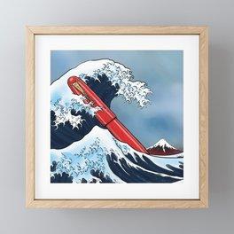 Great Wave - Namiki Framed Mini Art Print