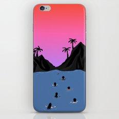 Swim Together iPhone & iPod Skin