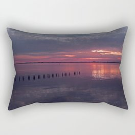 Transcend All Boundaries (Caloosahatchee River) Rectangular Pillow