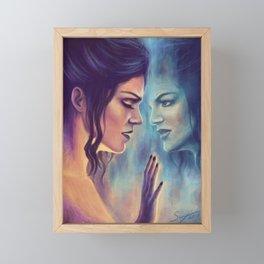 Mirror, Mirror Framed Mini Art Print