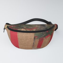 Rustic Christmas Gifts Fanny Pack