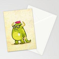 Monster Nerd Stationery Cards