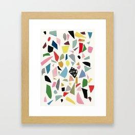 Terrazzo Framed Art Print