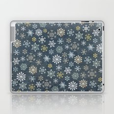 night time snow  Laptop & iPad Skin