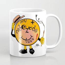 soy mas cabezudo que tú Coffee Mug