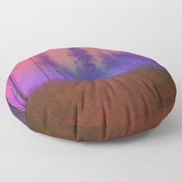 Walk In The Woods Floor Pillow