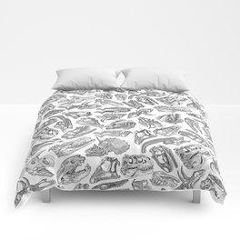 Paleontology Dream Comforters