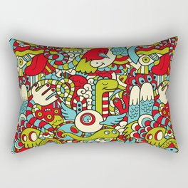 Monsters Party Rectangular Pillow