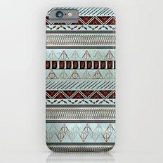 Harry Tribal Print Potter- Horcrux Blue iPhone 6 Slim Case