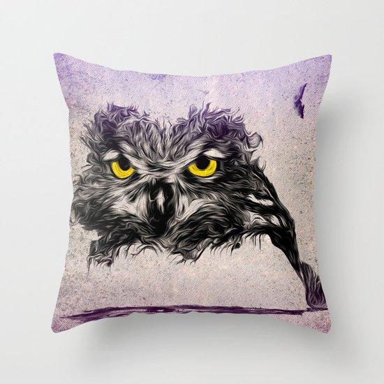 The Sudden Awakening of Nature Throw Pillow