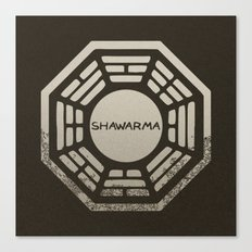 Shawarma Canvas Print