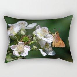 teeny take two Rectangular Pillow
