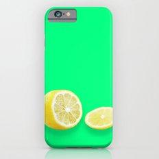 Lonely Sliced Lemon - Bright Spring Green iPhone 6s Slim Case